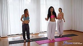 Renata Fox & Charlie Red & Marina Maya in Threesome with naughty belly dancer – SexyHub